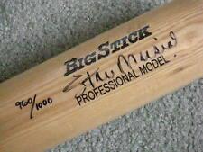 SIGNED STAN MUSIAL BIG STICK  BASEBALL BAT, COA, FROM ESTATE SALE, #960/1000