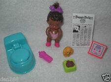 #8693 New Displayed Vintage Kenner Baby Buddies Big Girl Baby African American