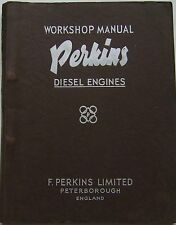 Perkins R6 Motores Diesel Original Manual De Taller 1955 Pub. No. 5756