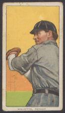 1909 1910 1911 T206 BASEBALL TOBACCO CARD ED WILLETTS WILLETT SOVEREIGN