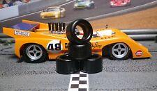 1/32 URETHANE SLOT CAR TIRES 2pr PGT-20115 fits Slot.it McLaren M8D, GT40, etc.
