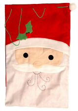 Grande Tela Navidad Saco de Papa Noel Bolsa Regalo Juguete Mochila