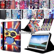 Para Tablet Samsung Galaxy Note varios-Smart Soporte Cuero Funda Cubierta + Pluma