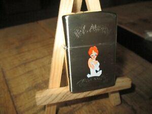 Tex Avery&démons&merveilles-La Pin up-Briquet collector, type Zippo-Neuf-1993