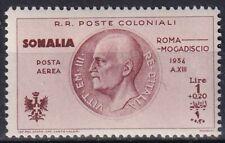 "1934 Colonies Somalia ""Flight Rome Mogadishu"" PA 11 NEW MNH **"