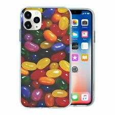 For Mobile Phone TPU Back Case Cover Sweets Biscuits Jelly Beans - T1120