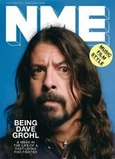 DAVE GROHL OF THE FOO FIGHTERS BRIAN MOLKO NME 13 OCTOBER 2017 SHIPPING INCLUDED