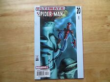 2002 ULTIMATE SPIDER-MAN # 20 MARY JANE & DOC OCK SIGNED MARK BAGLEY WITH POA