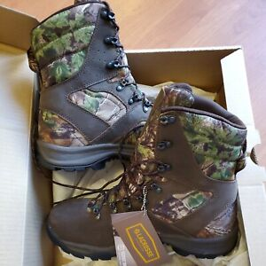 """Lacrosse Boot Realtree Xtra Green Quick Shot 8"""" Size 10M New"""