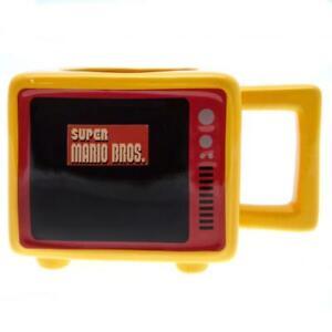 Super Mario Retro TV Heat Changing 3D Mug