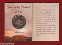 10 x 2002 Year of the Outback $1 unc Coin - 'B' Brisbane Mint Mark, Wholesale