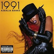 AZEALIA BANKS 1991 EP w/ 4 UNRELEASED TRX  STILL SEALED 2012 CD w/ LAZY JAY USA