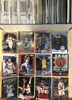 2000+ NBA Card Collection Investor Lot 90s Rookie Auto Prizm Jordan Lebron Steph