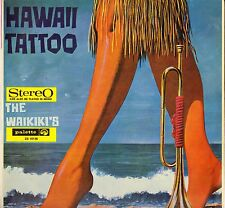 "THE WAIKIKI'S ""HAWAII TATTOO""  1967 LP POP 10136"