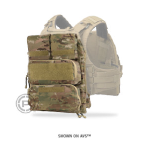 Crye Precision - Pouch Zip-On Panel 2.0 - MultiCam - Small / Medium