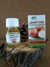 Huile d'oignon BIO 100% PURE ET NATURELLE - Onion oil - Zwiebelöl