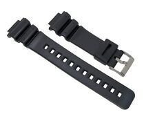 16mm Black Replacement Resin/PVC Watch Band for G-Shock DW-6900B, DW-6900G