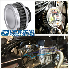 Stainless 35mm Stainless Steel Motorbike ATV Air Cleaner Intake Filter Universal