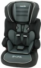 Nania Beline SP LX Group 1 2 3 Car Seat and High Back Booster Agora Storm