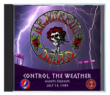 GRATEFUL DEAD 'Control The Weather' in Giants Stadium, July 1989, Live on CD