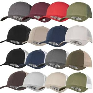 YUPOONG RETRO / CLASSIC TRUCKER CAP Flexfit High Profile Foam Mesh Kappe Mütze