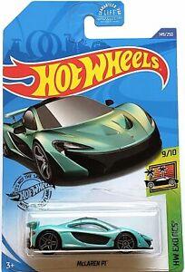 2020 Hot Wheels Mainline #149 - McLaren P1 (Green) GHC36