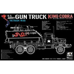 AFV 35323 1/35 Gun Truck King Cobra M54 + M113 Plastic Model Kit Brand New