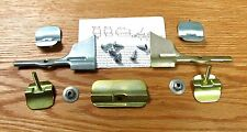 1955 1956 1957 CHEVY WINDSHIELD MOLDING CLIP SET  NEW Complete with corner clips