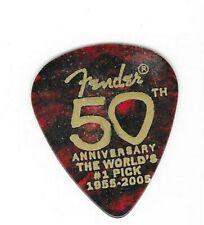 Fender guitar pick 50th Anniversary 1955-2005 Lot of 3