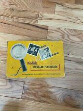 Vintage Kodak Standard Flasholder in original box no bulb