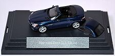 Mercedes Benz SLK R172 Roadster + Hardtop 2011-16 canvasit bleu métallique 1:87