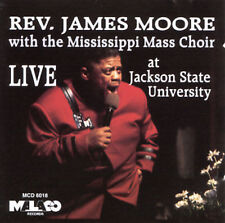 Rev. James Moore - Live At Jackson State University - New Factory Sealed CD