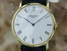 Vacheron & Constantin 18k Solid 18k Gold Manual 31mm Vintage Dress Watch MX79