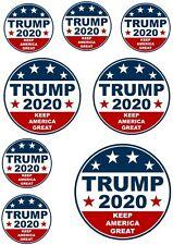Sticker - Trump 2020 (Sticker Set - 8 Pieces)