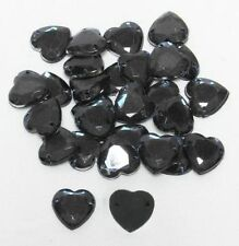 Unbranded Plastic Hearts Cardmaking & Scrapbooking Buttons