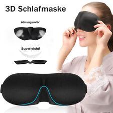 3D Schlafmaske Schlafbrille Herren Damen Blackout Augenmaske Eye Reise Maske