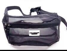 Sheer Belt Bag (Black)