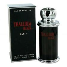 THALLIUM BLACK PERFUME*MEN'S COLOGNE 3.3 oz EDT NEW IN BOX*FOR MEN* FRAGRANCE