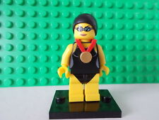lego minifigures the swimming champion from series 7