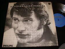 "JOHNNY HALLYDAY   LA GÉNÉRATION PERDUE  12"" Lp Vinyl~Canada Pressing~70.381"