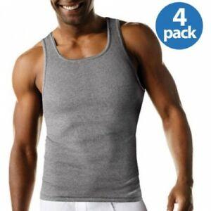 4 pack hanes mens a shirt choose your size & color