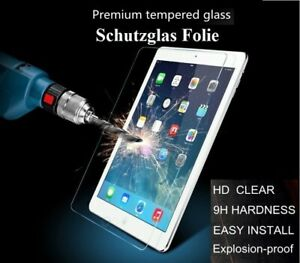 💥Display Schutz-GLAS-FOLIE ★ iPad Echt SchutzGlasFolie 9H★ Klar & Transparent💥