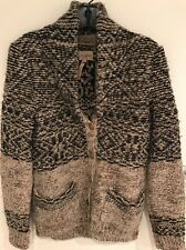 Auth Aritzia Wilfred Free Sweater S Button Front Multi Colour Cardigan Oatmeal