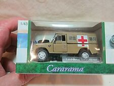 "Cararama Hongwell 251XD. Land Rover Series III 109"". Army Ambulance. VG"