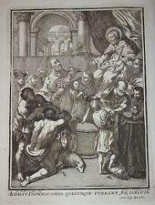 GIOBBE POEMA - figur. 1763 - Zampieri - PIACENZA - Guido Reni