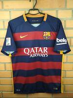 Barcelona Jersey 2015 2016 Home M Shirt 658794-422 Soccer Football Nike Trikot