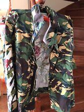 NWT Off White Camo Roses M65 Jacket Women