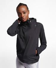 Womens Nike Zonal Aeroshield Running Jacket Size S (929107 010) Black