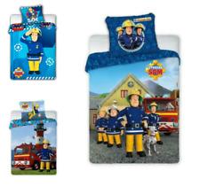 Feuerwehrmann Sam Kinderbettwäsche Fireman Sam Babybettwäsche 100x135 cm