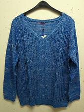 Mehrfarbige Damen-Pullover & Mittel mit Hüftlang und Baumwollmischung